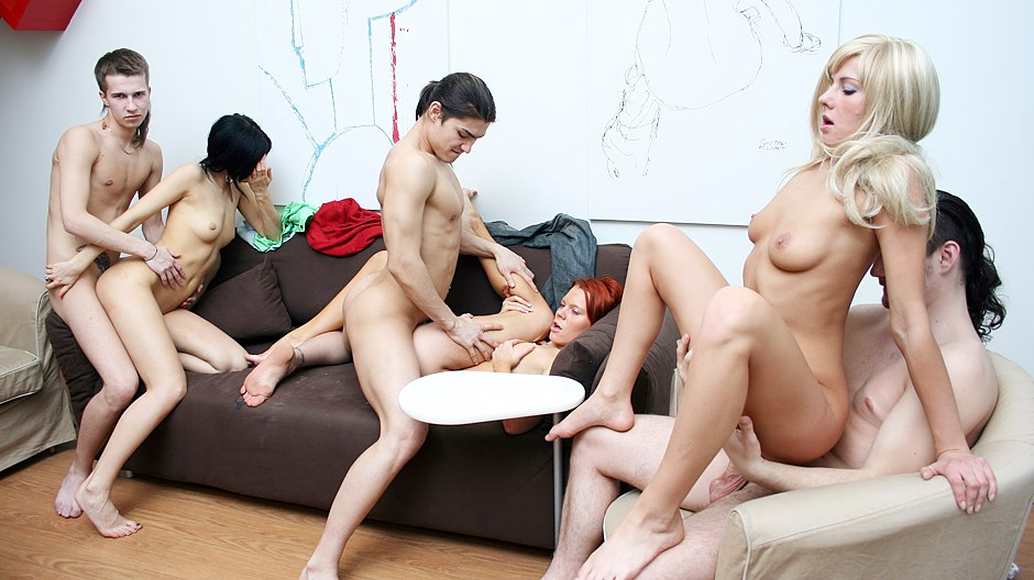 Watch college sex video with a hot filthy brunette
